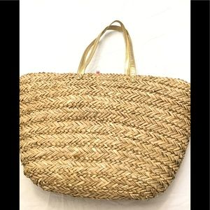 Lilly Pulitzer for Target Bags - Lilly Pulitzer Large Woven Straw Beach Tote